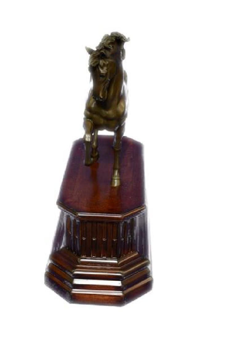 Majestic Stallion Arabian Horse Bronze Sculpture - 4