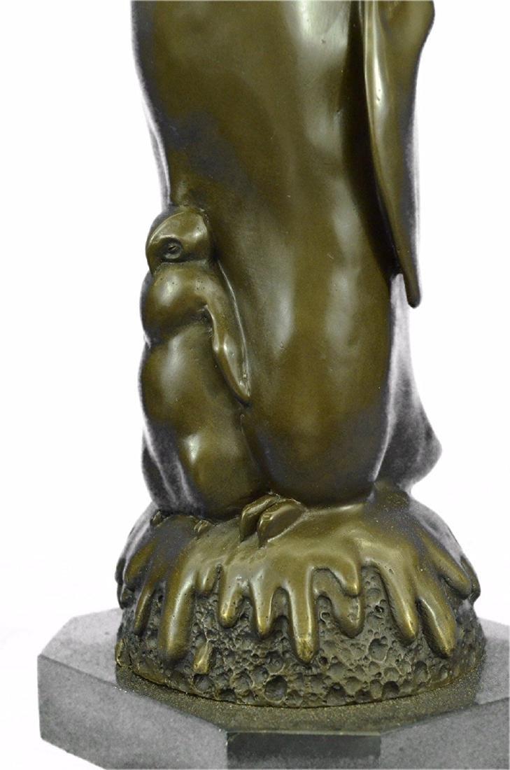 Penguin Chick Bronze Sculpture - 3