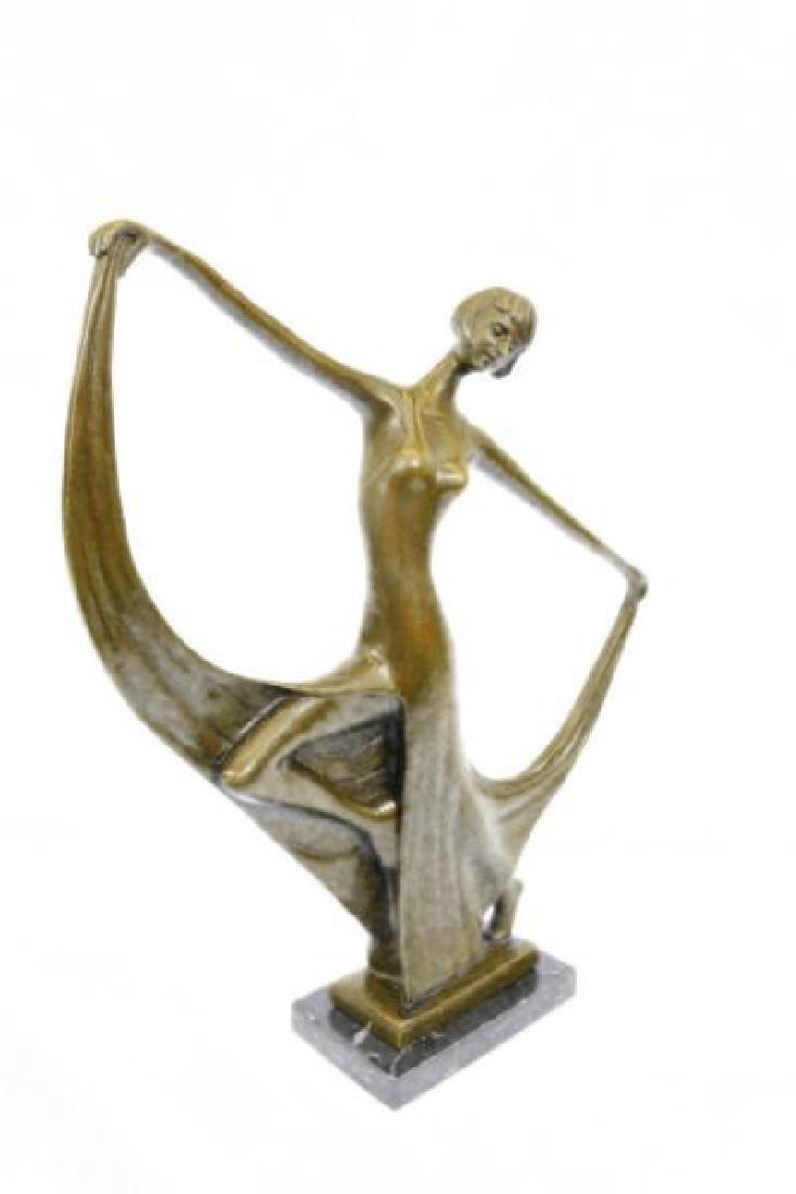Dancer Bronze Model Statue