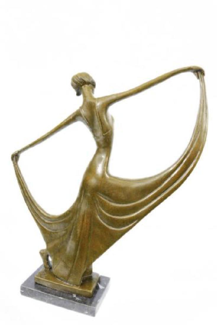 Dancer Bronze Model Statue - 3
