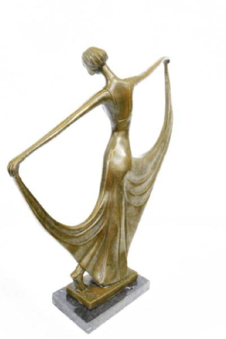 Dancer Bronze Model Statue - 4