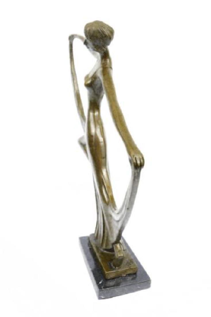 Dancer Bronze Model Statue - 5