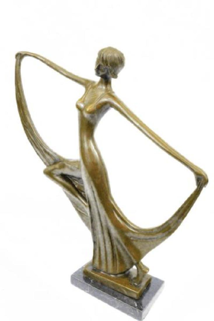 Dancer Bronze Model Statue - 6