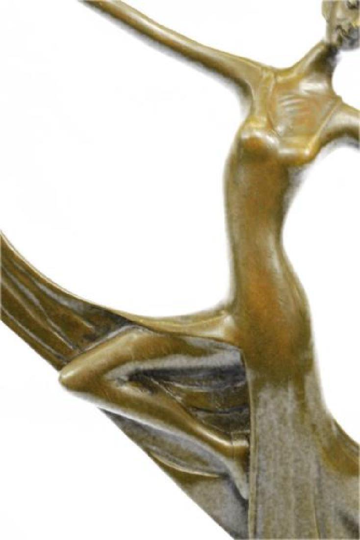 Dancer Bronze Model Statue - 8