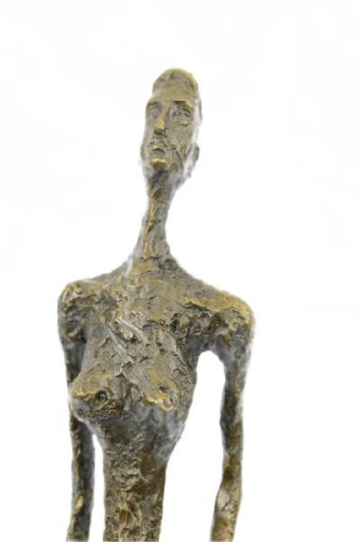 Abstract Modern Female Bronze Sculpture - 7