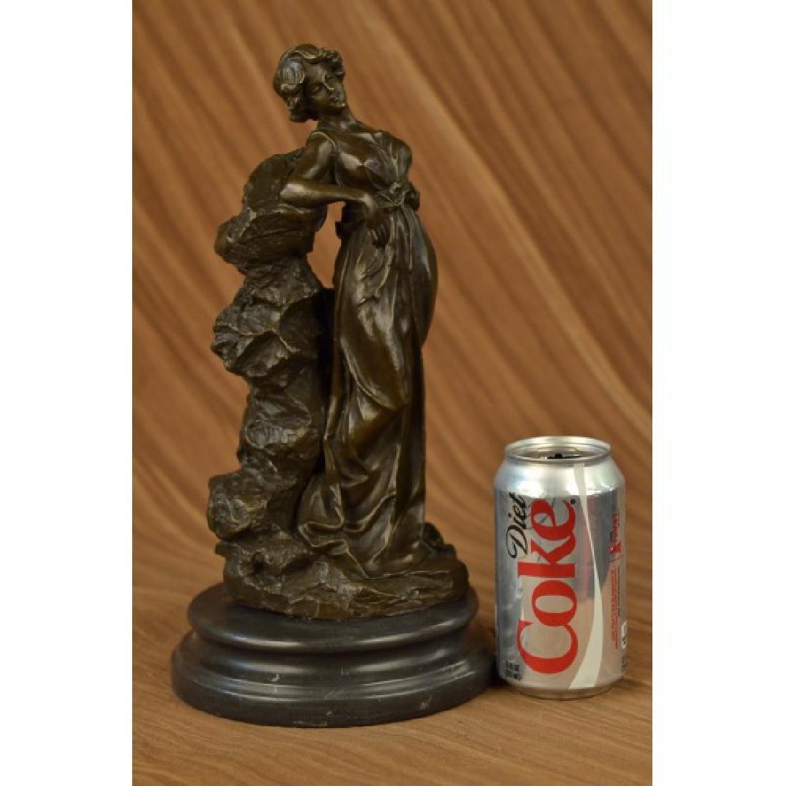 Roman Goddess Bronze Sculpture - 2