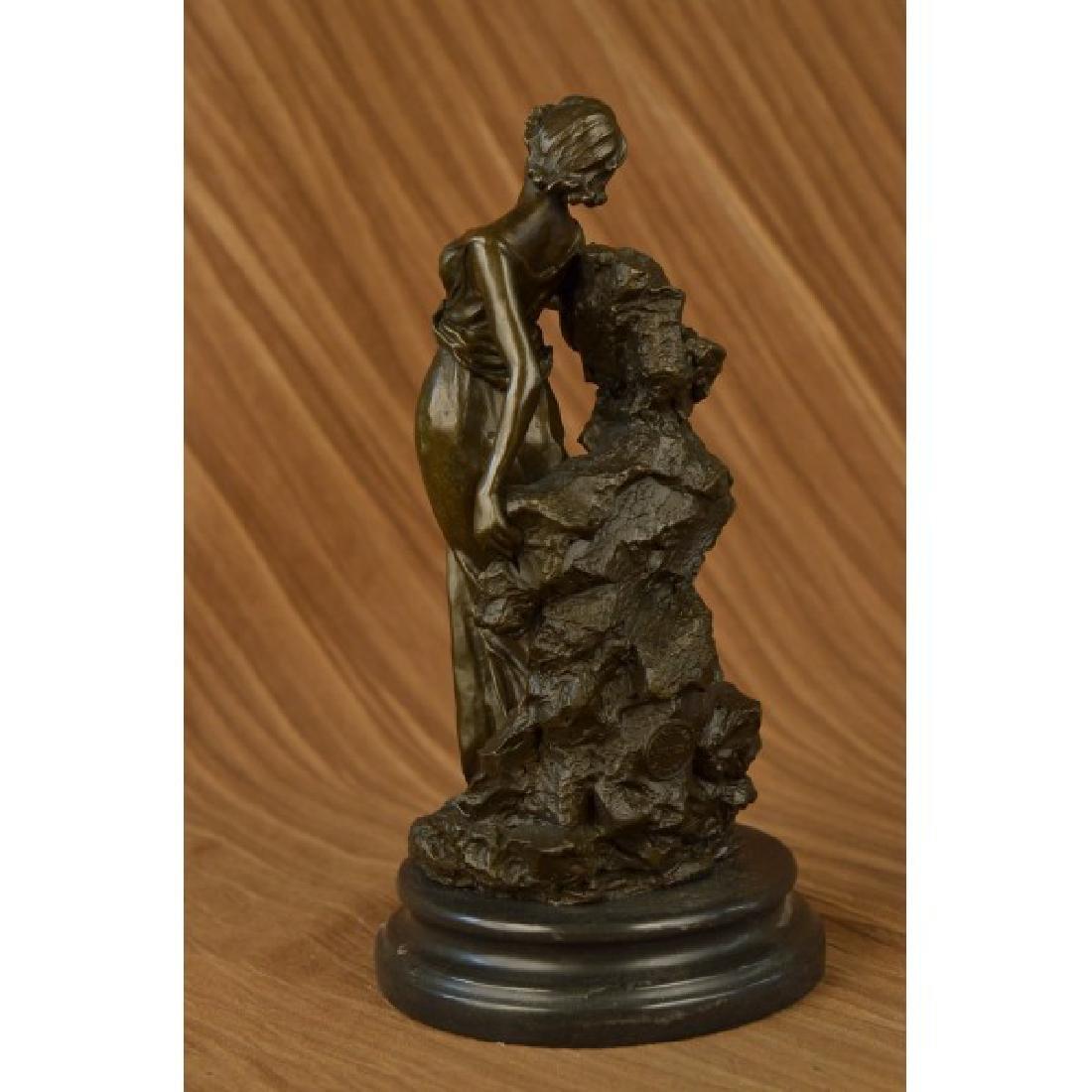 Roman Goddess Bronze Sculpture - 3