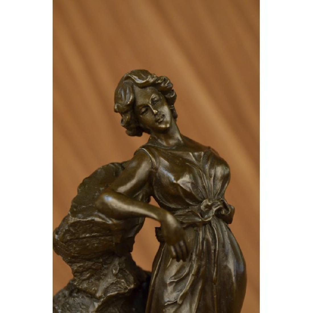 Roman Goddess Bronze Sculpture - 4