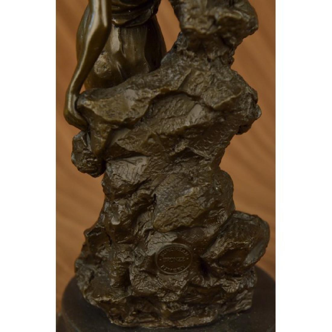 Roman Goddess Bronze Sculpture - 5