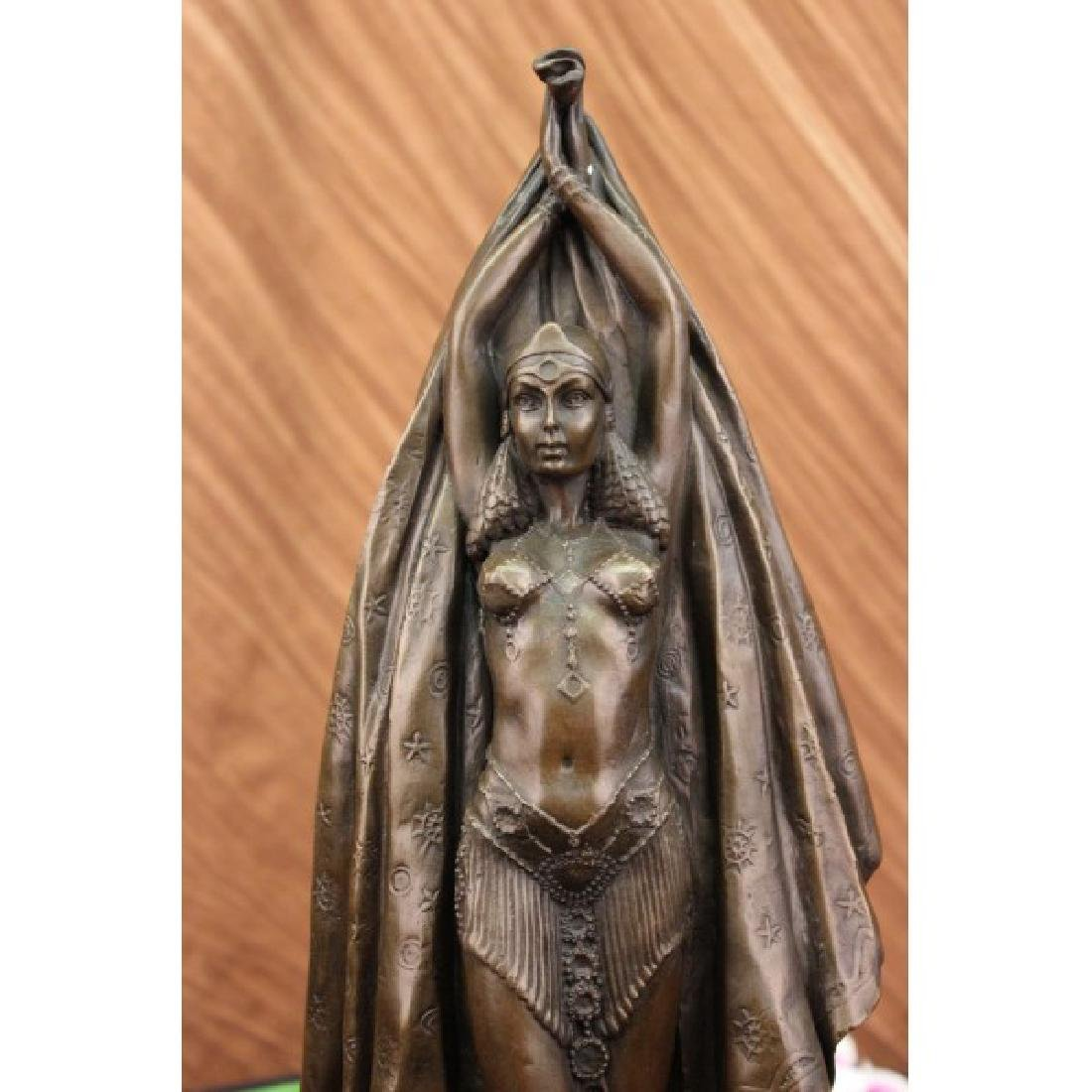 Egyptian Dancer Art Deco Bronze Figurine