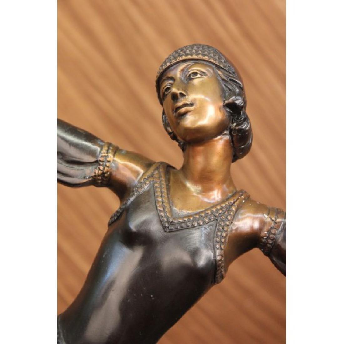 Egyptian Dancer Bronze Sculpture - 5