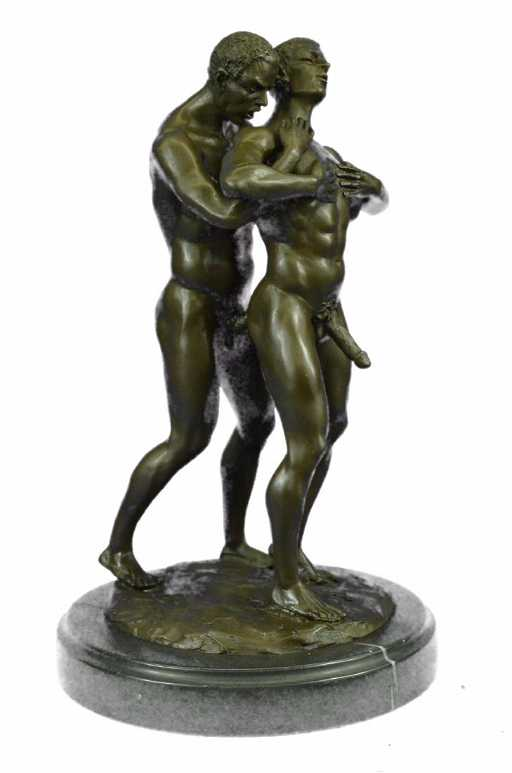 A. SANTINI SIGNED/NUMBERED ART DECO SCULPTURE
