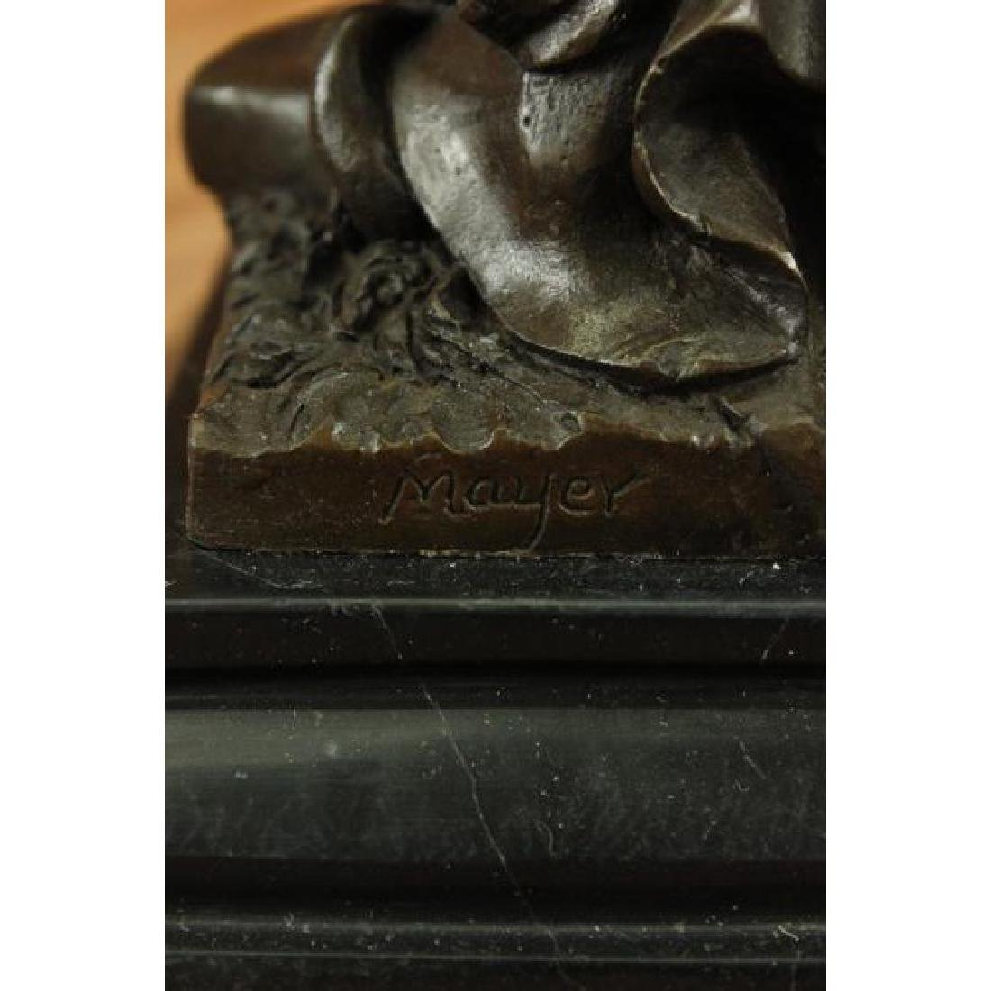 Blind Justice - Scale of Justice Bronze Sculpture - 6