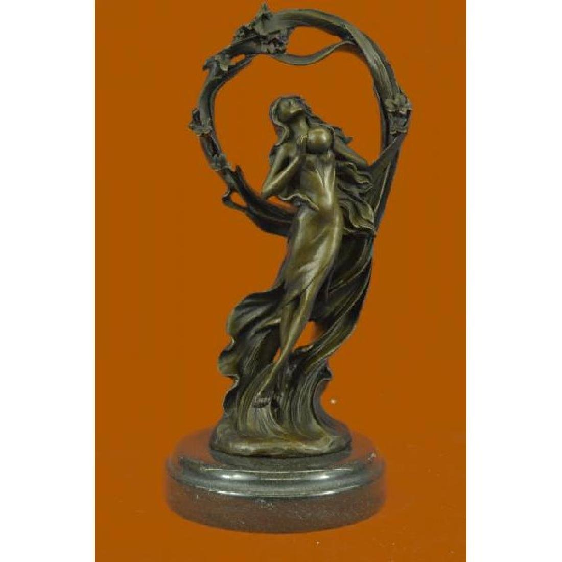 Dream Goddess Bronze Sculpture