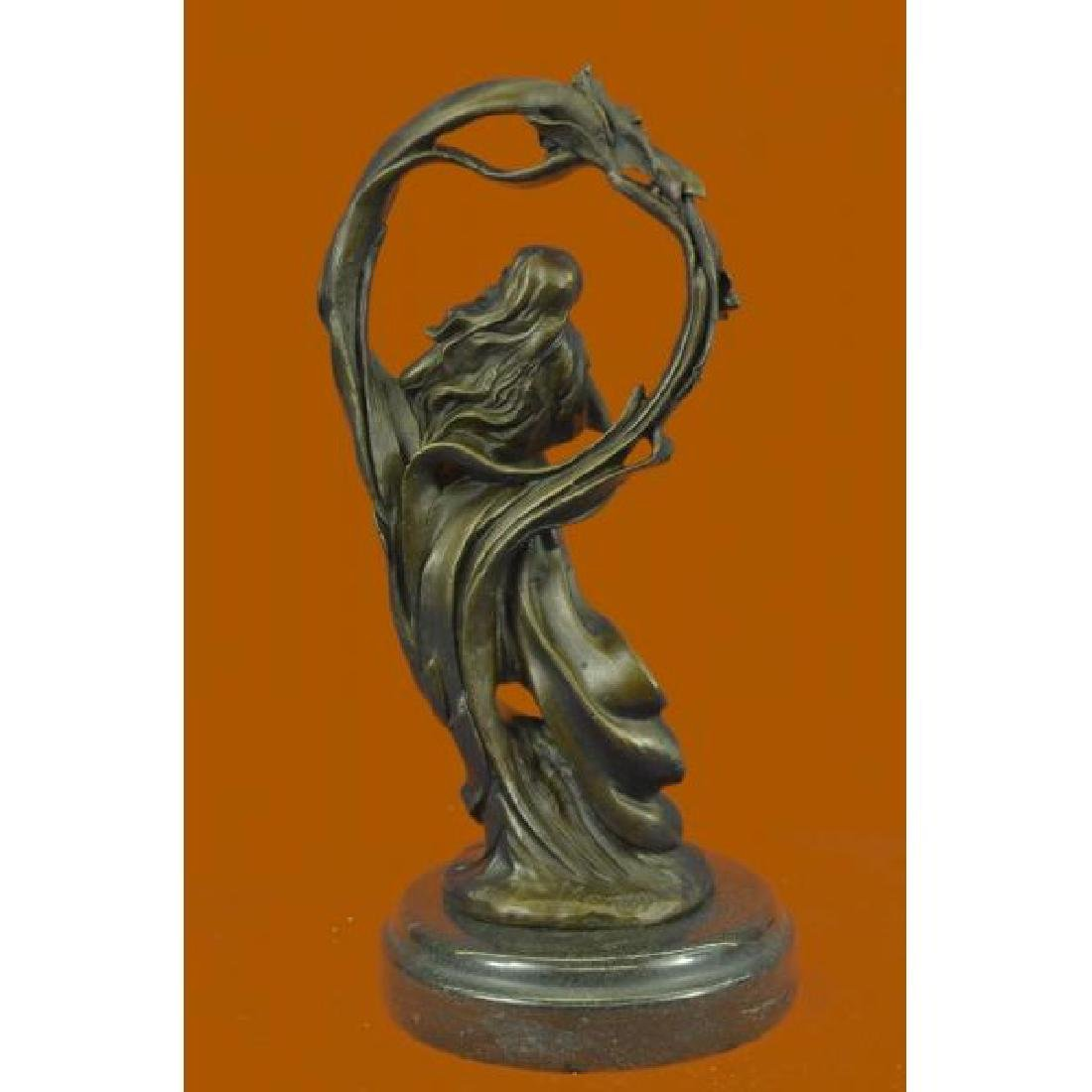 Dream Goddess Bronze Sculpture - 3