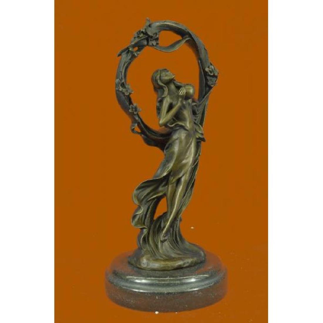 Dream Goddess Bronze Sculpture - 4