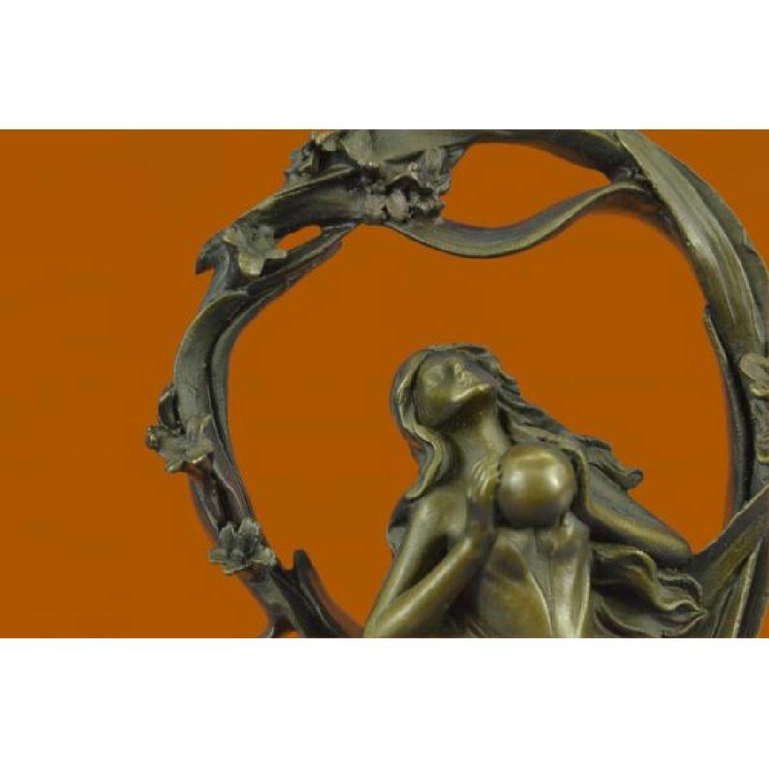 Dream Goddess Bronze Sculpture - 5