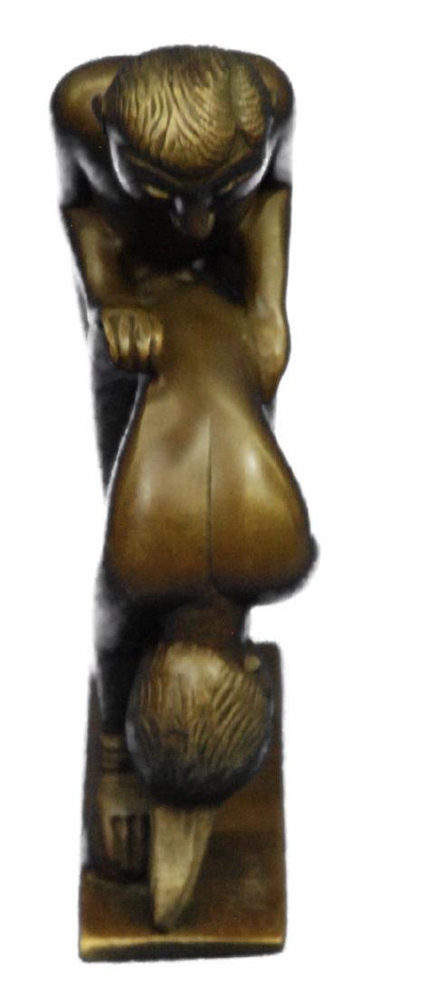 Penetration Sexual Bronze Sculpture - 2