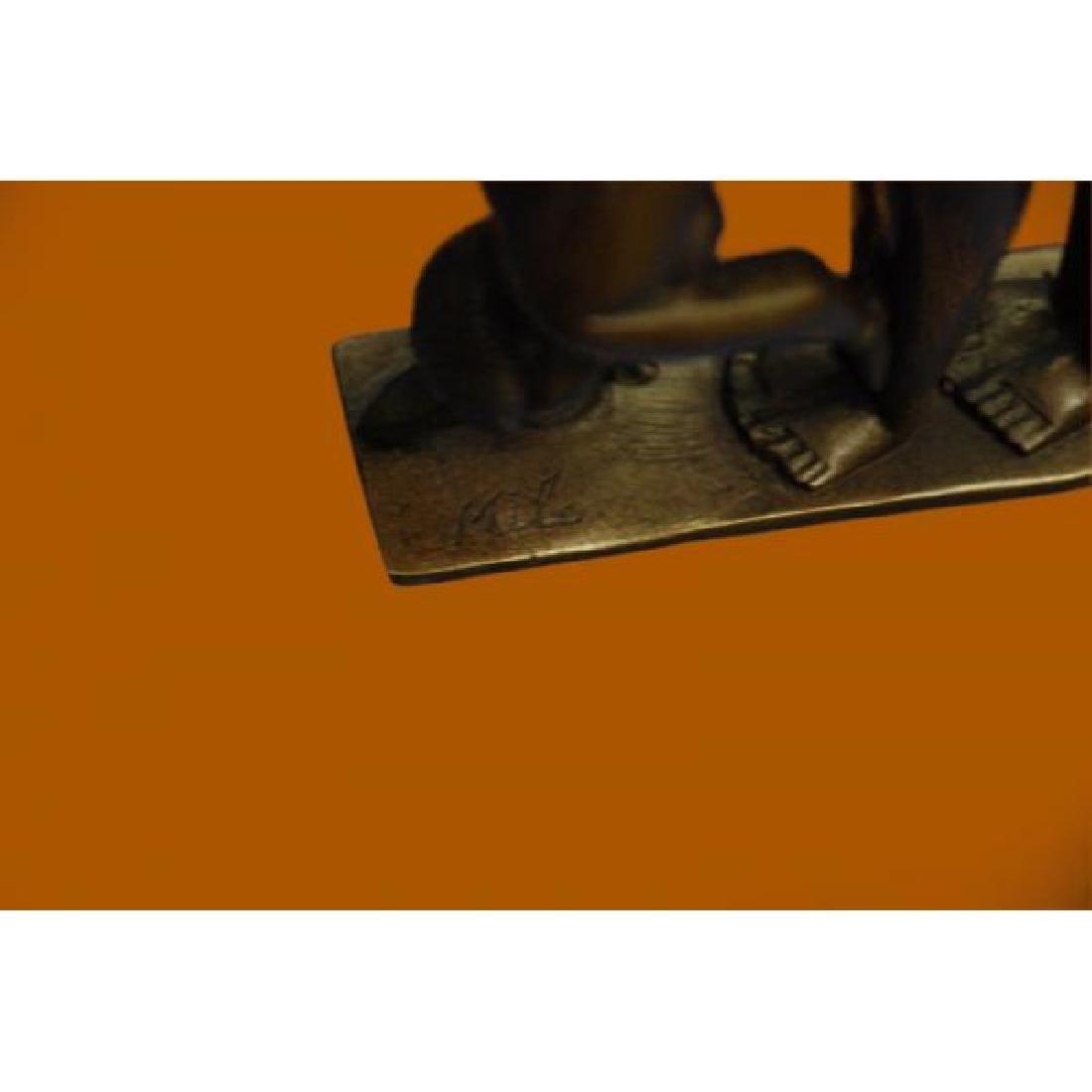 Penetration Sexual Bronze Sculpture - 6