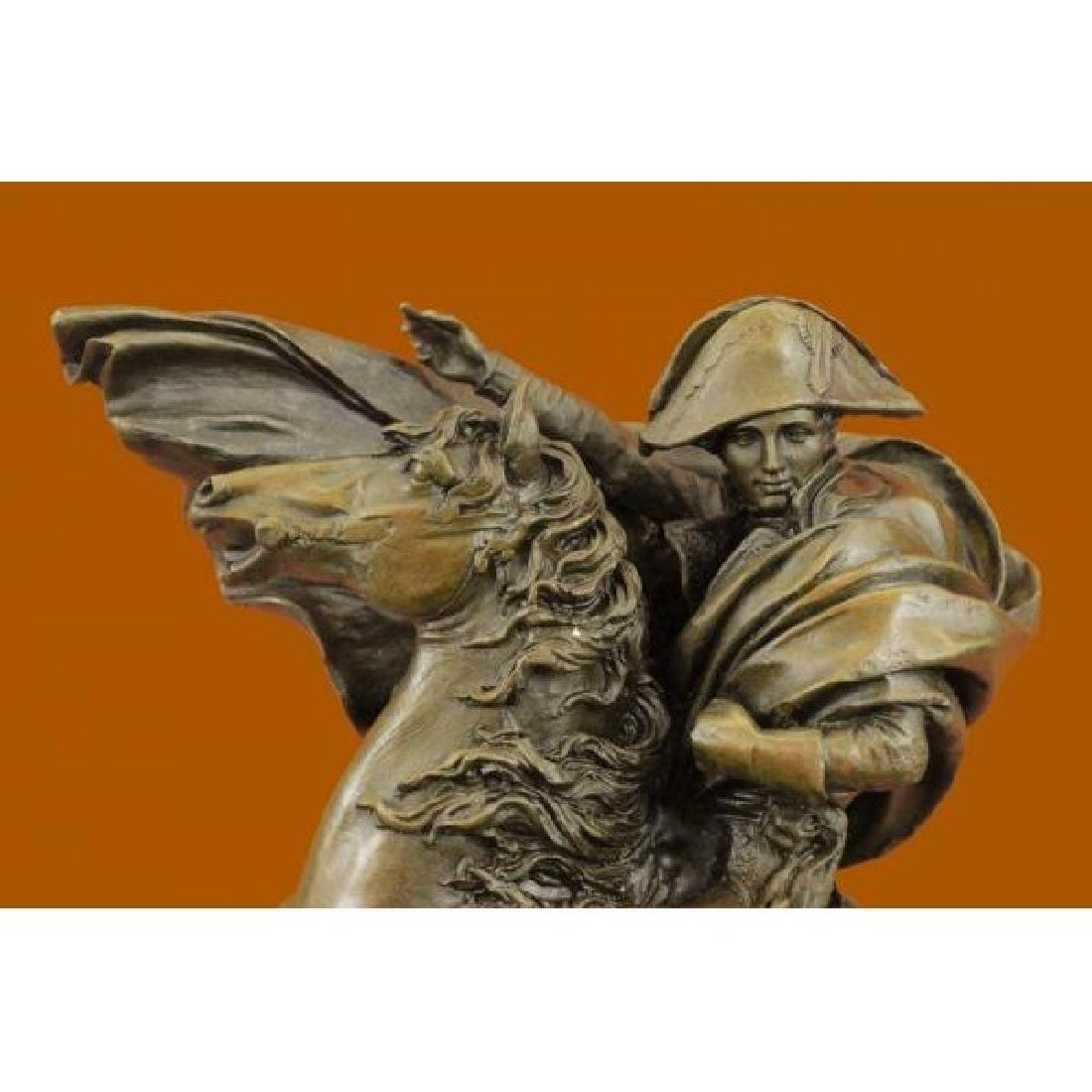 Bronze on Marble Base Sculpture of Napoleon Bonaparte - 5