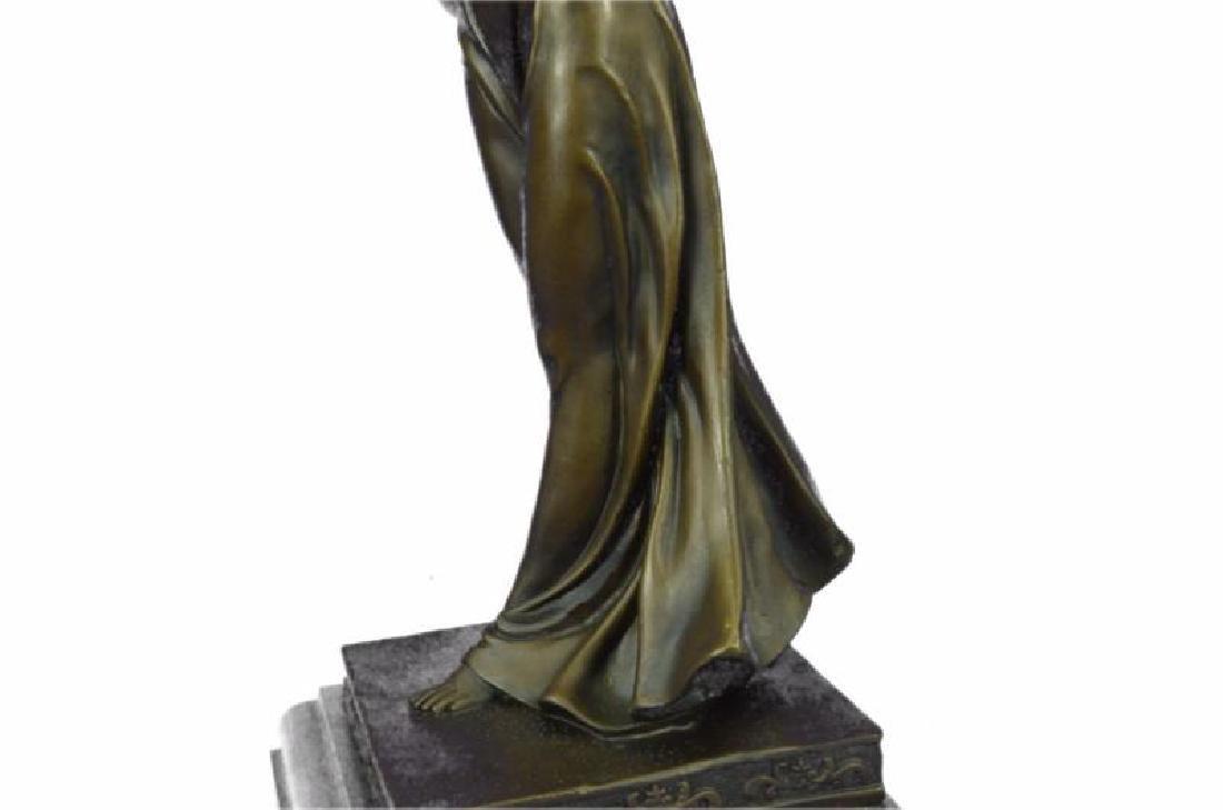 Greek Mythology Athena Female Warrior with Sword Bronze - 8