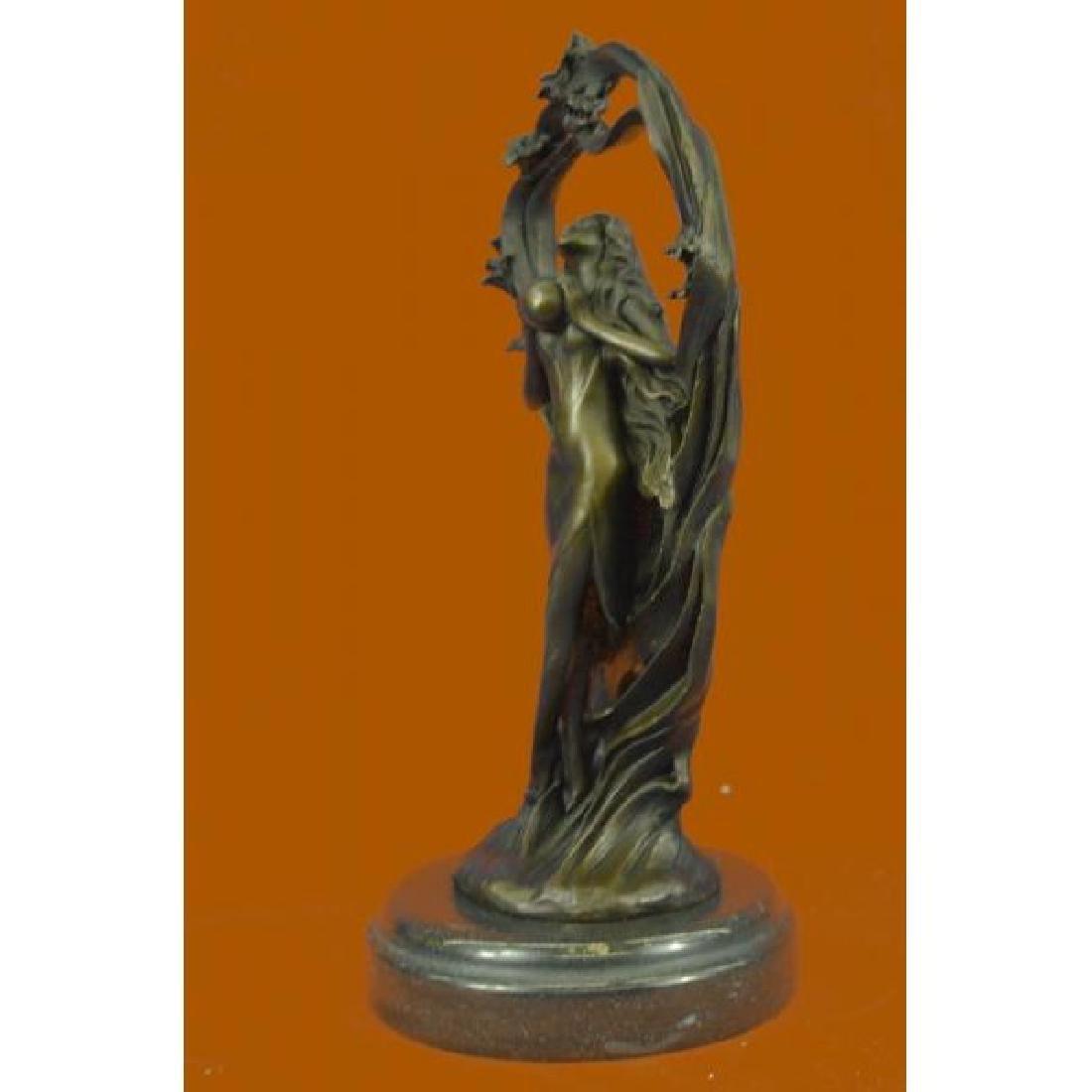 Dream Goddess Bronze Sculpture - 2