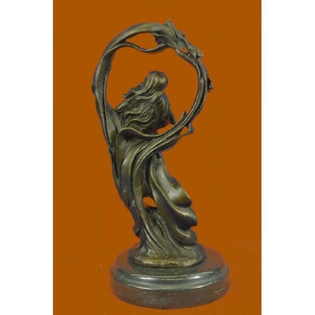 Dream Goddess Bronze Sculpture - 3
