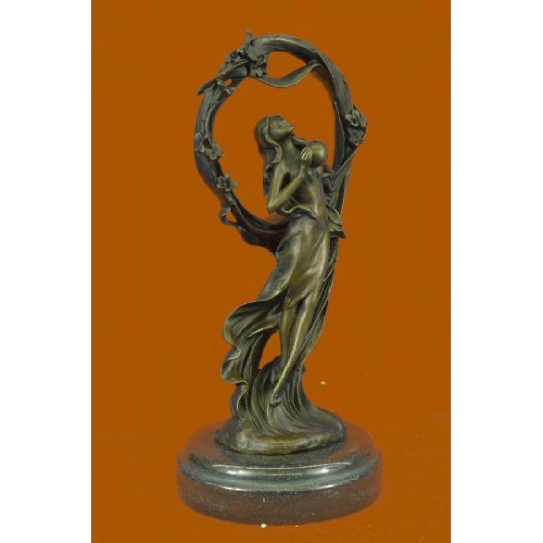 Dream Goddess Bronze Sculpture - 4
