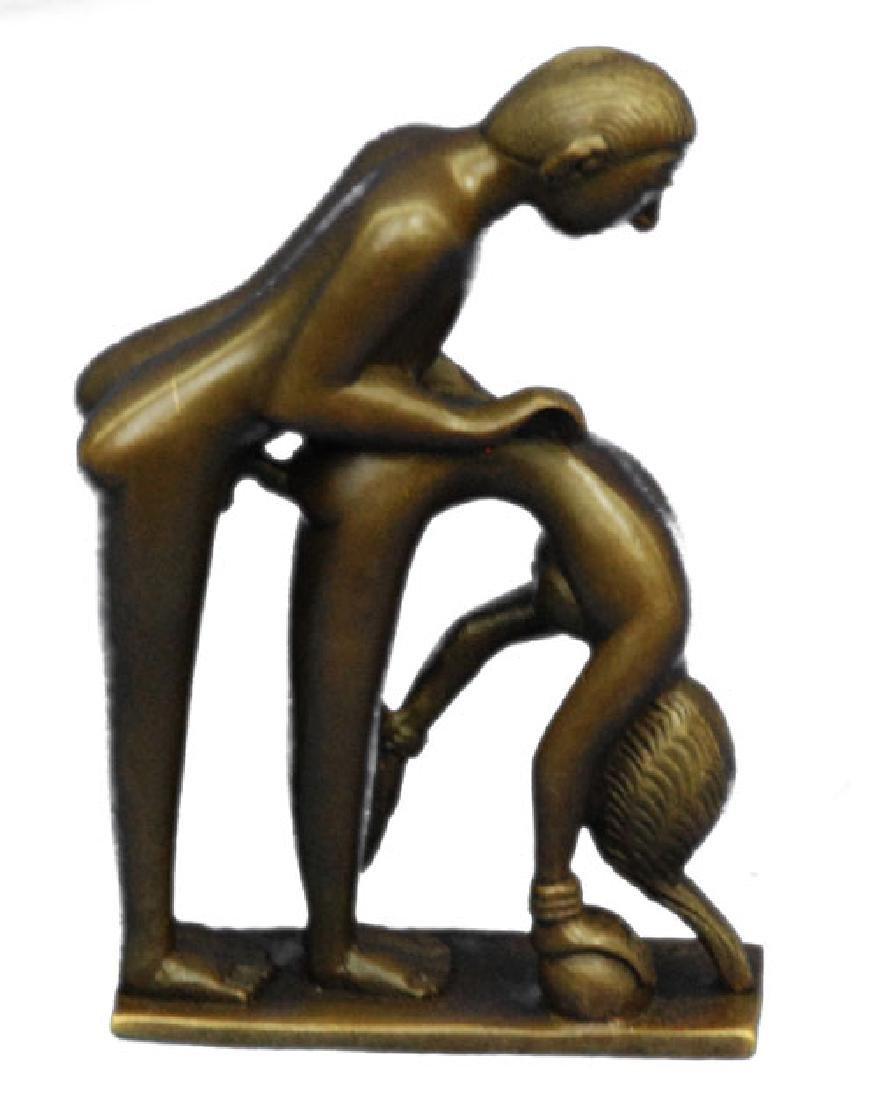 Penetration Sexual Bronze Sculpture