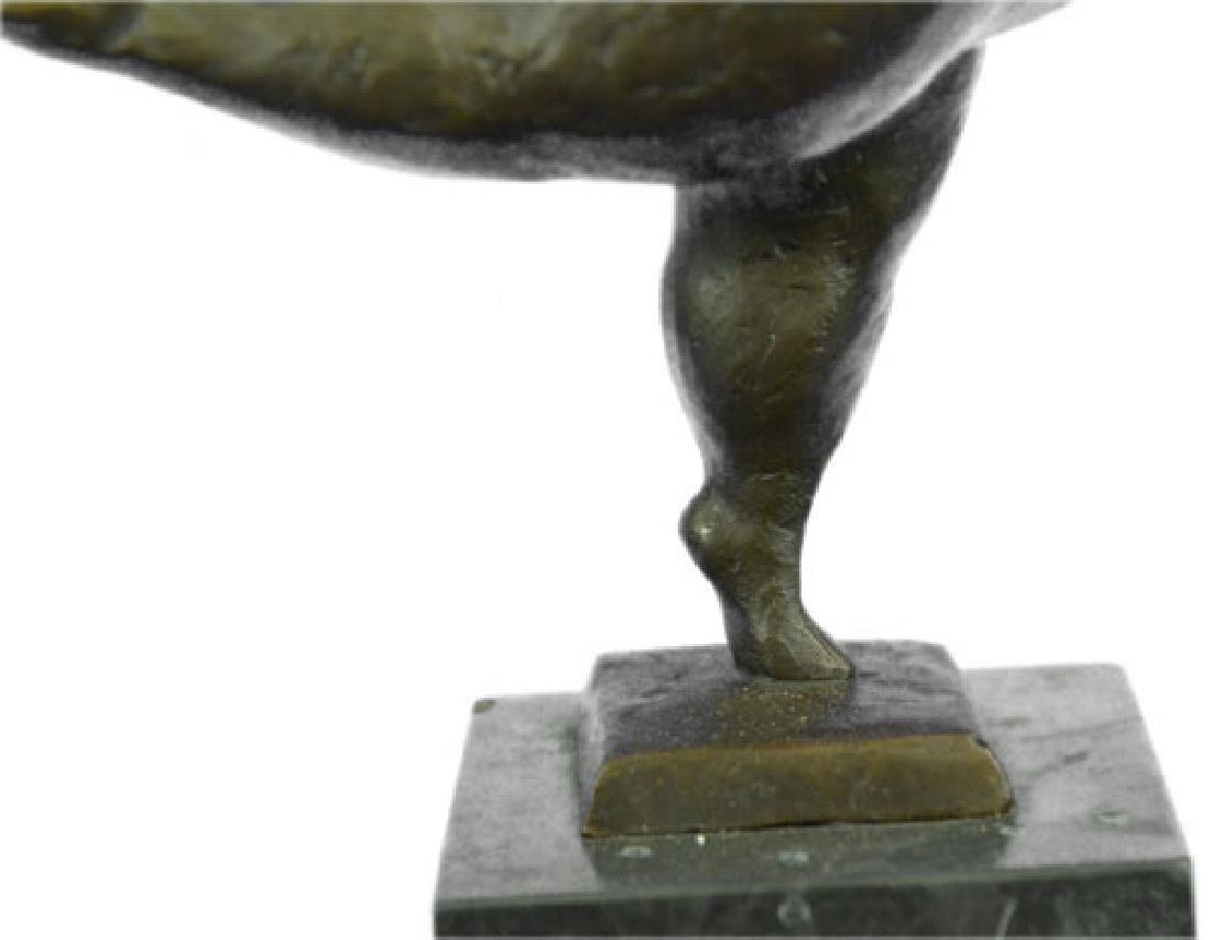 Abstract Ballerina Bronze Figurine - 3