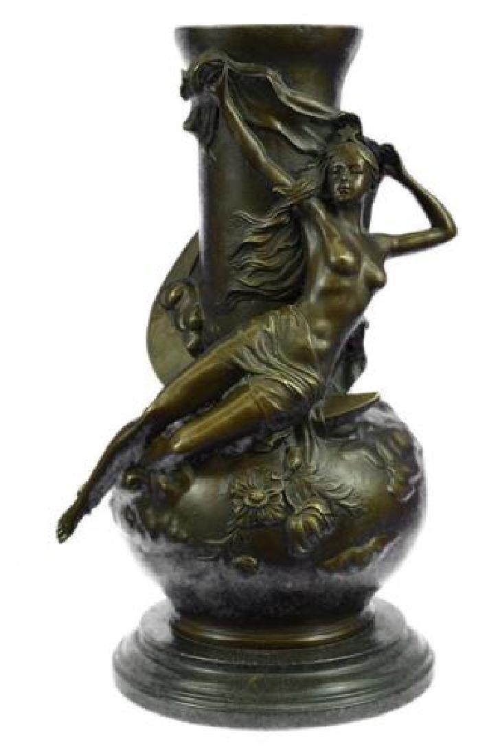 Nude Vase Bronze Sculpture