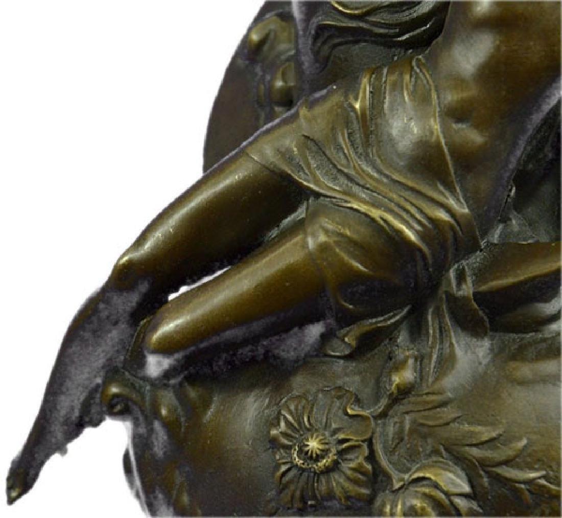 Nude Vase Bronze Sculpture - 4