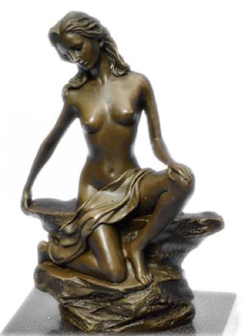 Innocence Girl Bronze Sculpture - 2