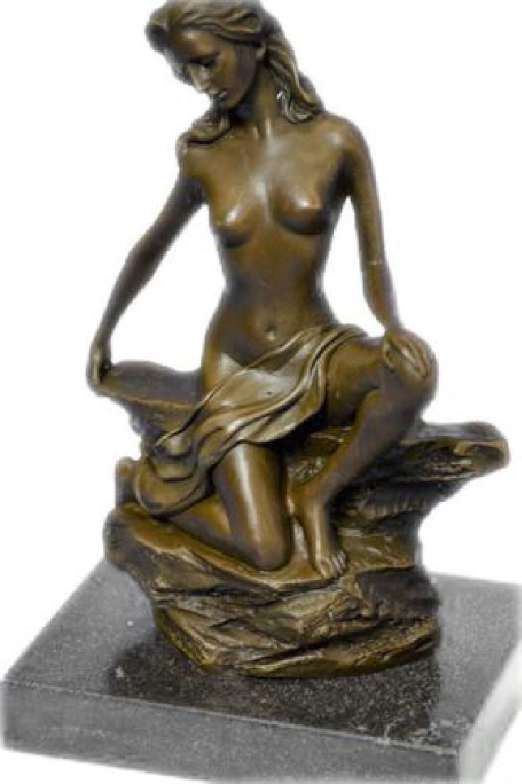 Innocence Girl Bronze Sculpture - 4