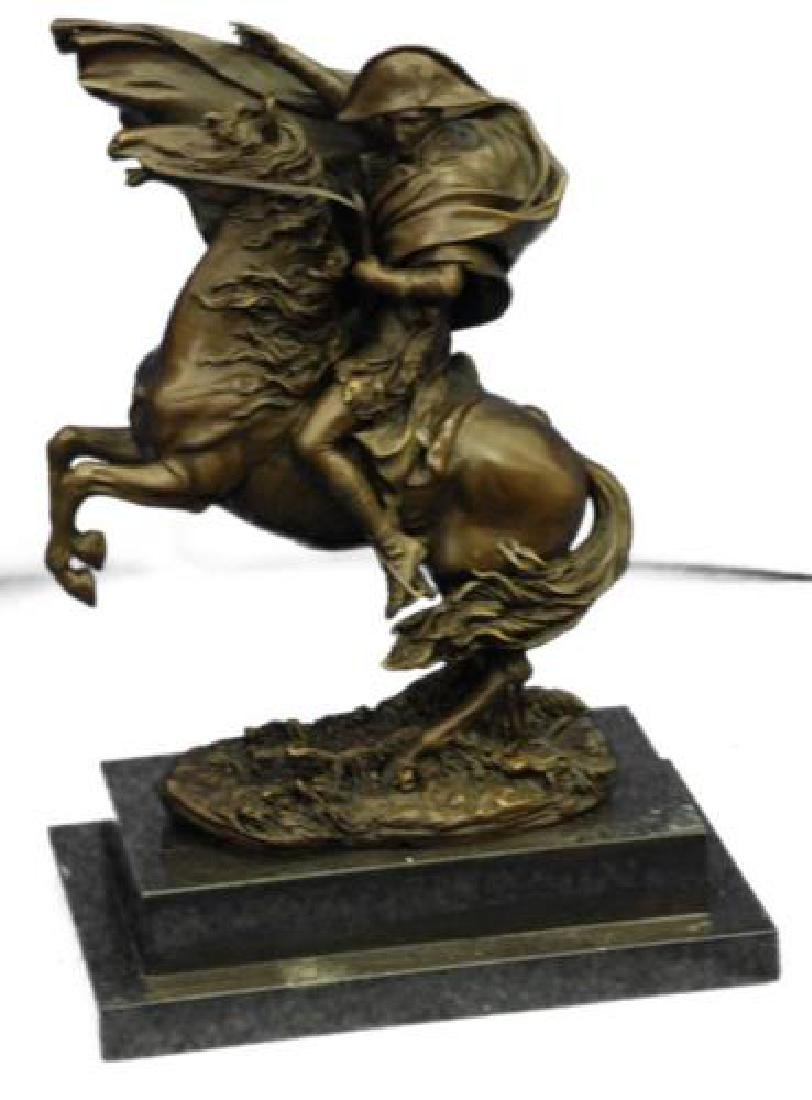 Napoleon Bonaparte Riding Horse Bronze Sculpture