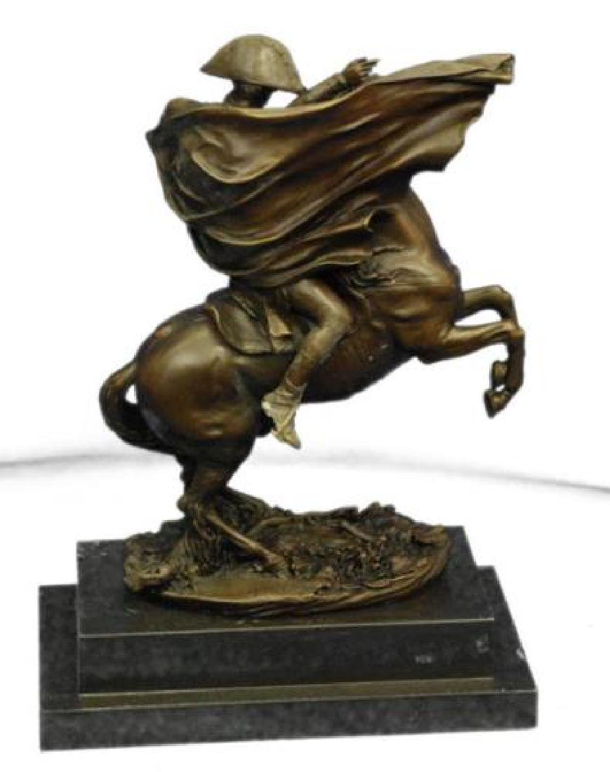 Napoleon Bonaparte Riding Horse Bronze Sculpture - 6