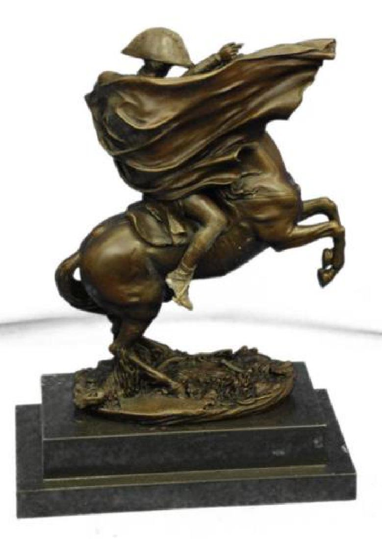 Napoleon Bonaparte Riding Horse Bronze Sculpture - 7