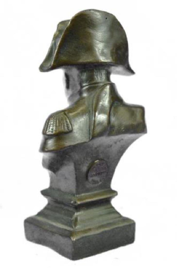 Napoleon Bonaparte France Emperor Bronze Bust Sculpture - 6