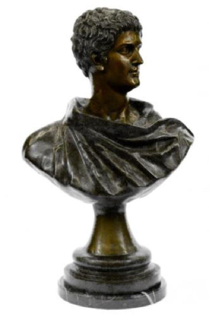 Roman Politician General Mark Anthony Bronze Sculpture