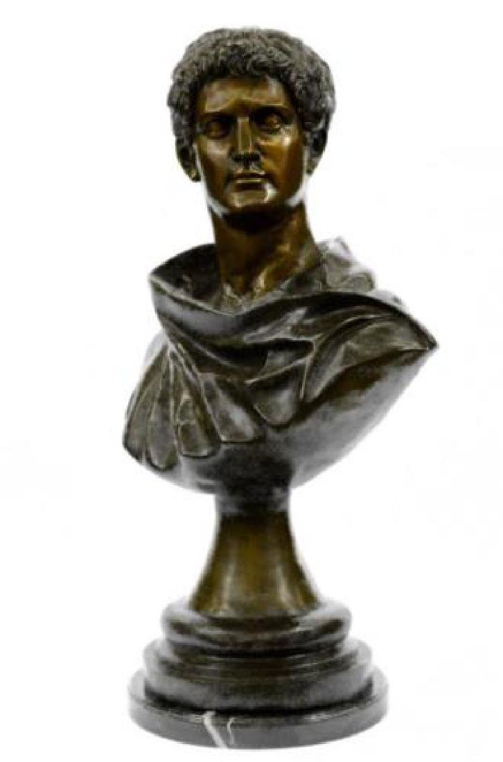 Roman Politician General Mark Anthony Bronze Sculpture - 6