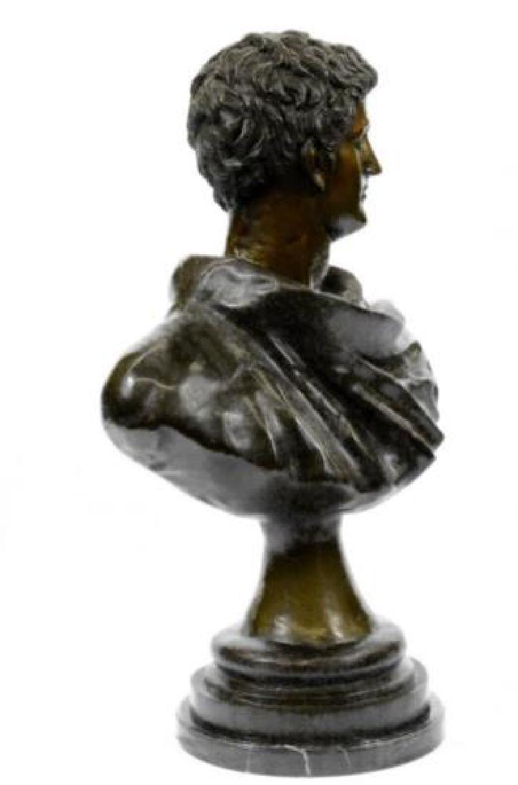 Roman Politician General Mark Anthony Bronze Sculpture - 9