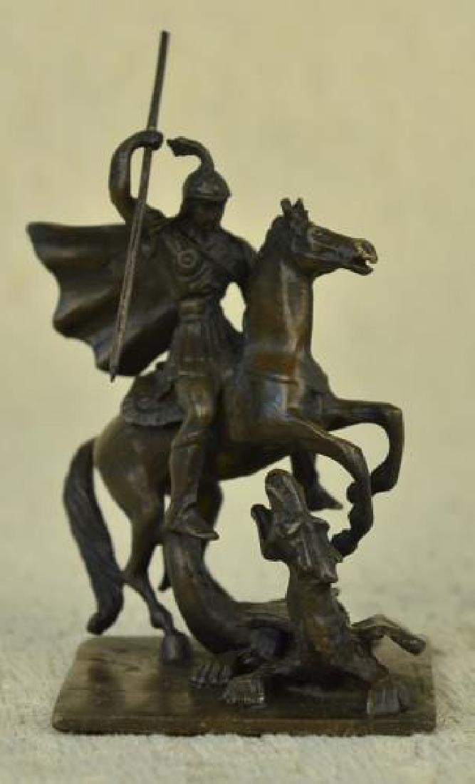 Knight Warrior Bronze Sculpture
