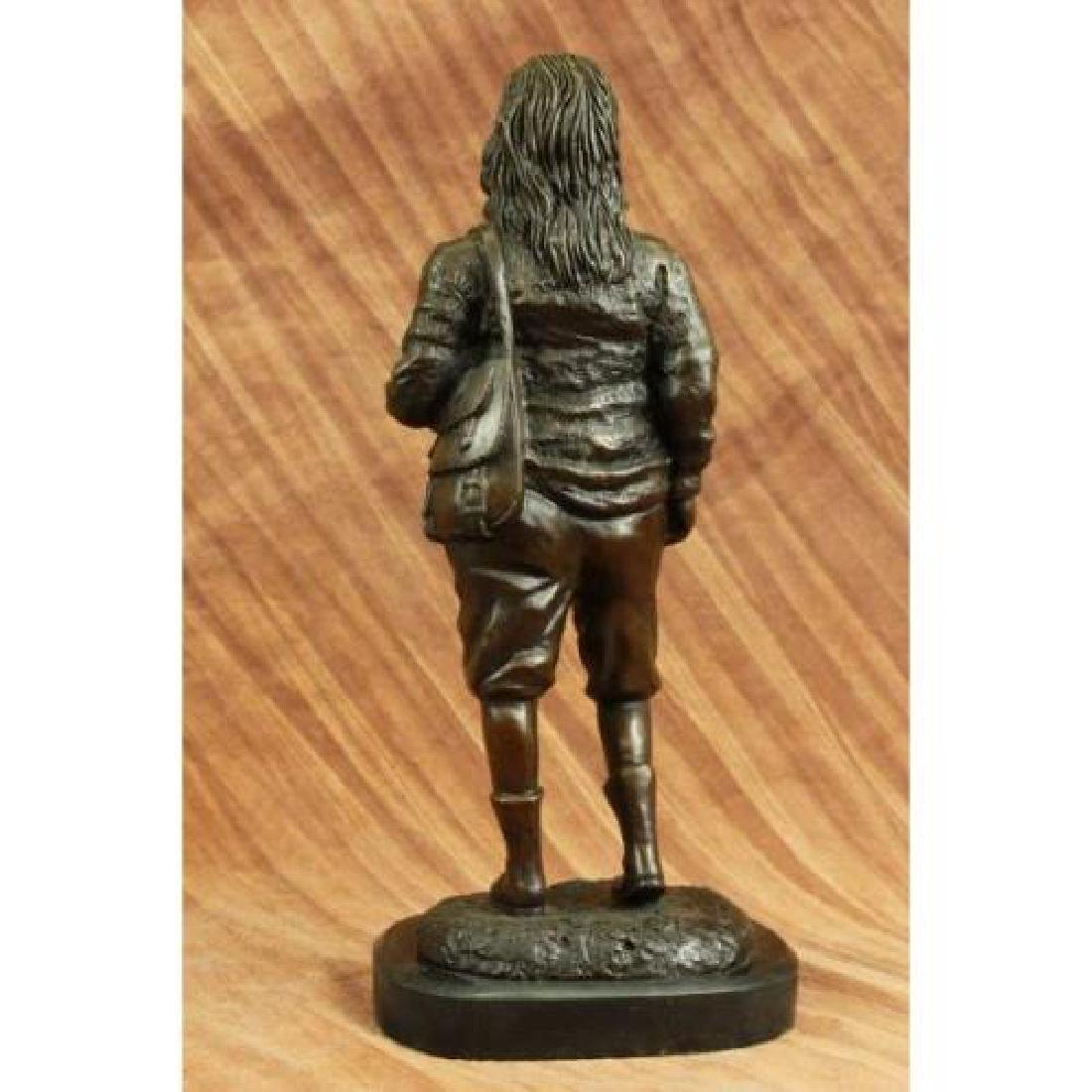 Ben Franklin American Revolution Bronze Figurine - 3