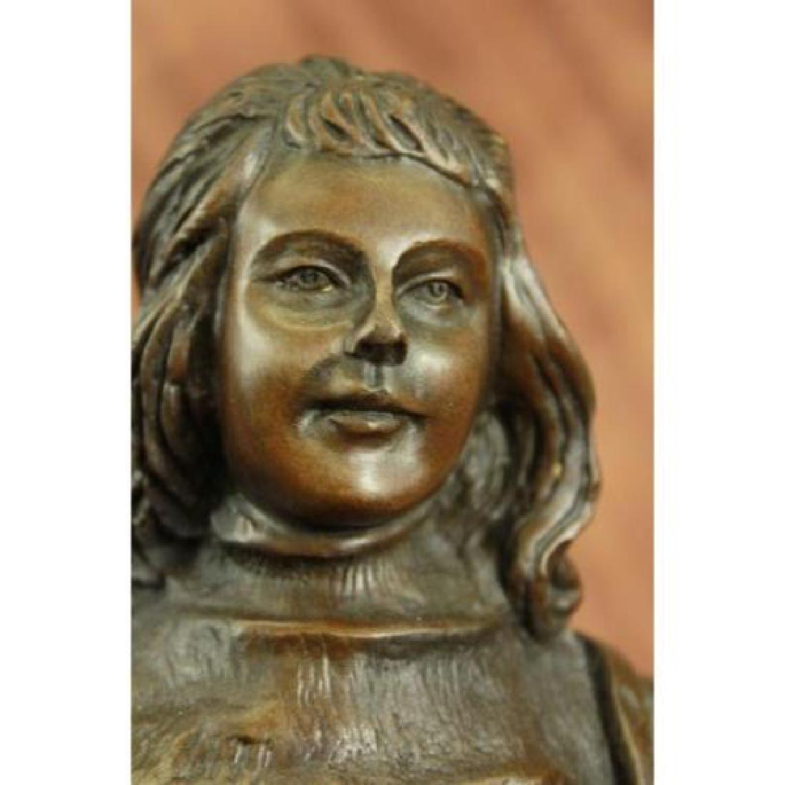Ben Franklin American Revolution Bronze Figurine - 5