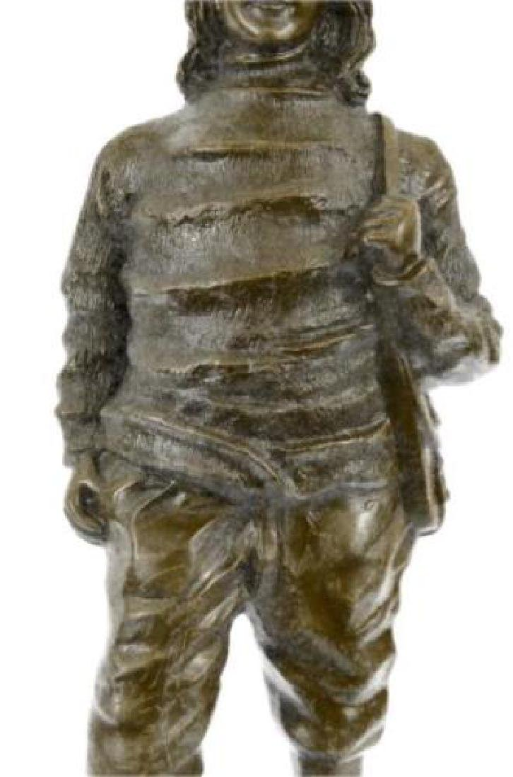 Ben Franklin American Revolution Bronze Figurine - 6
