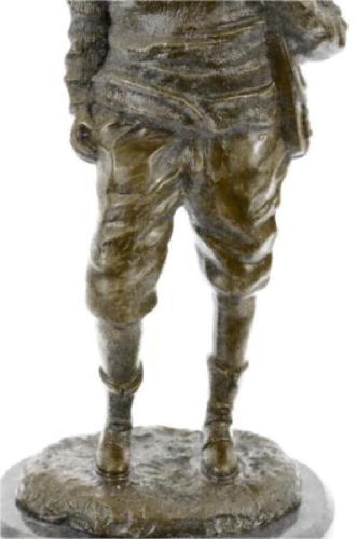 Ben Franklin American Revolution Bronze Figurine - 7