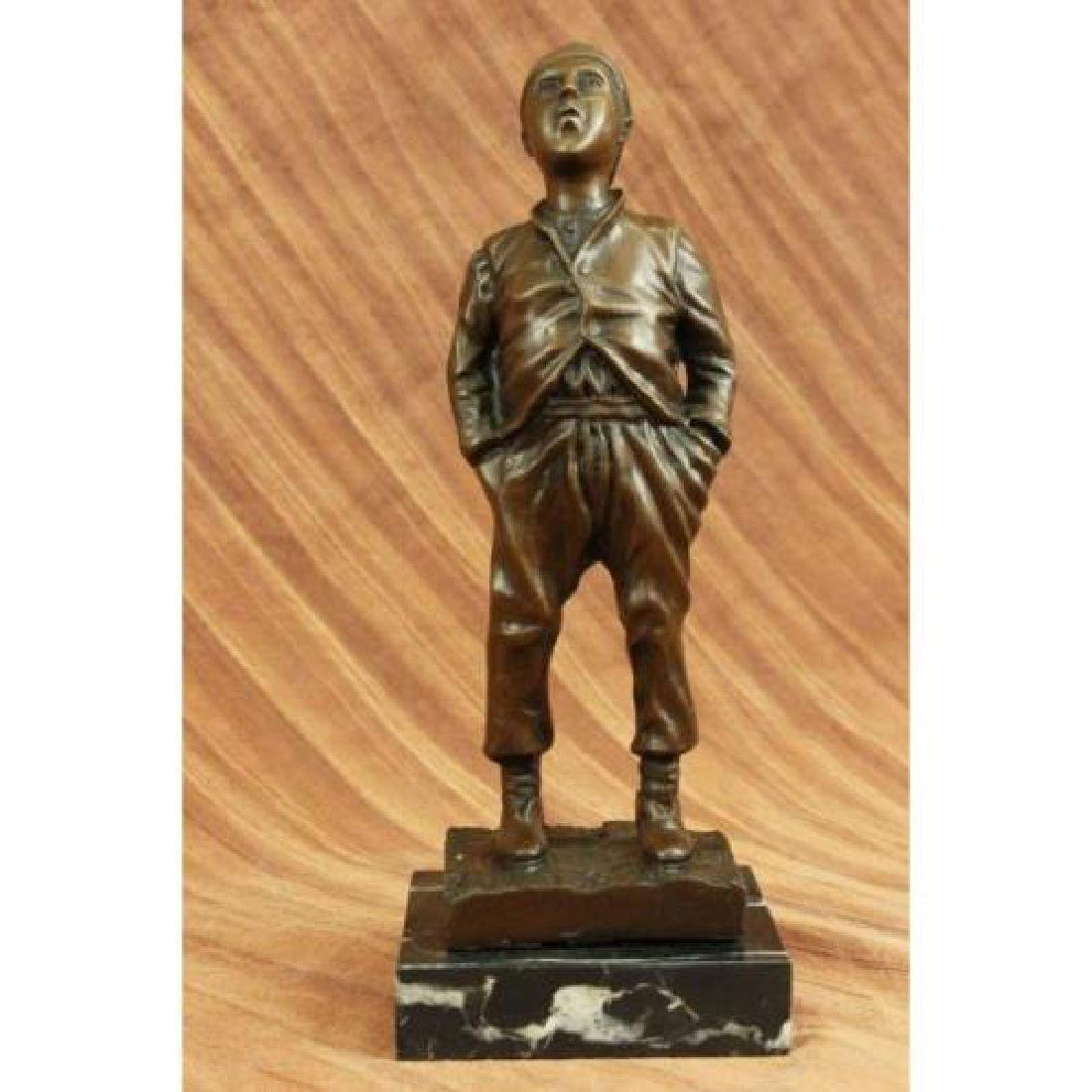 Whistler Bronze Sculpture