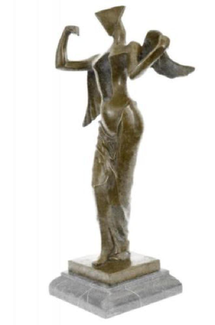 Heavenly Abstract Modern Art Angel Bronze Sculpture