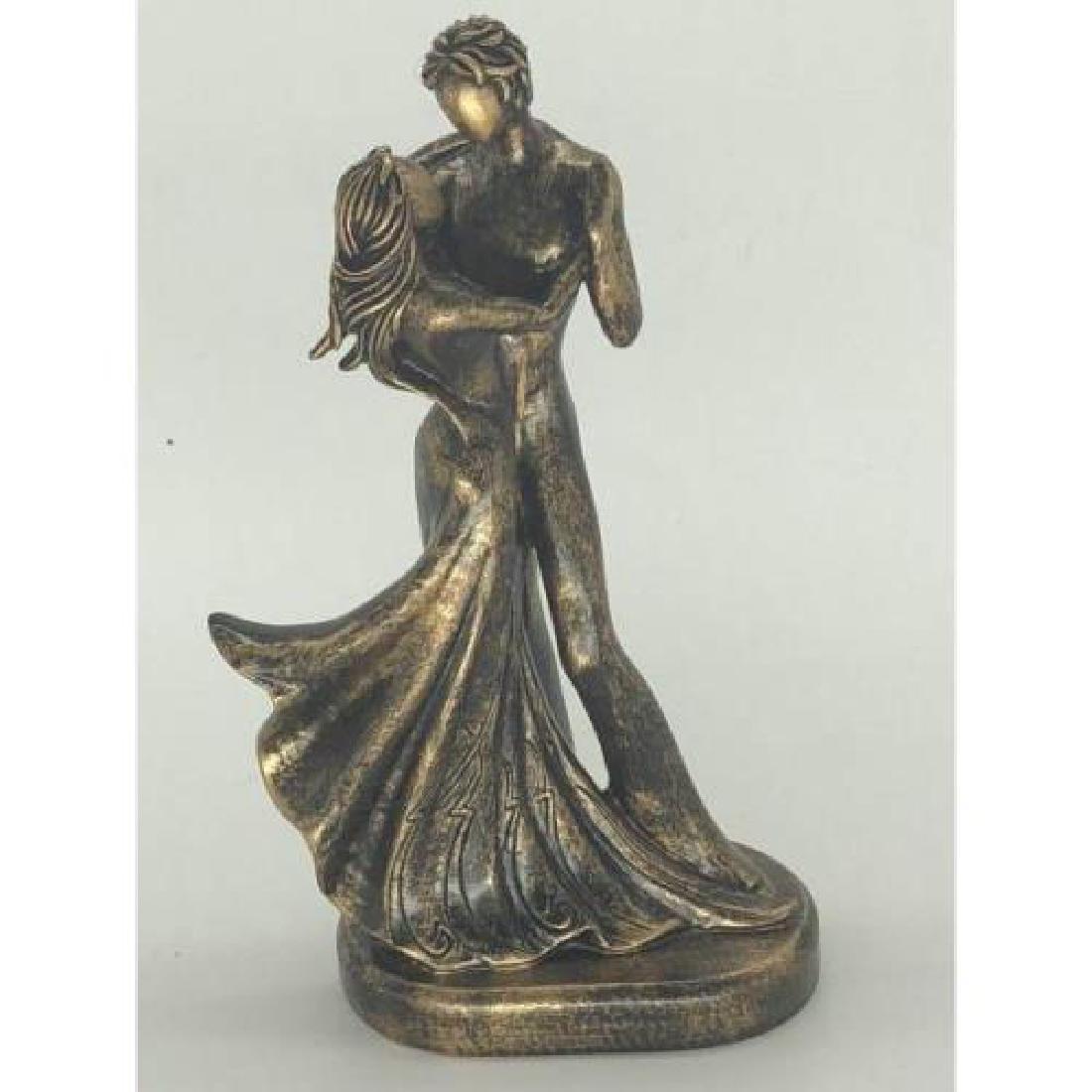 Abstract Modern Art Bronze effect Last Tango Cold Cast