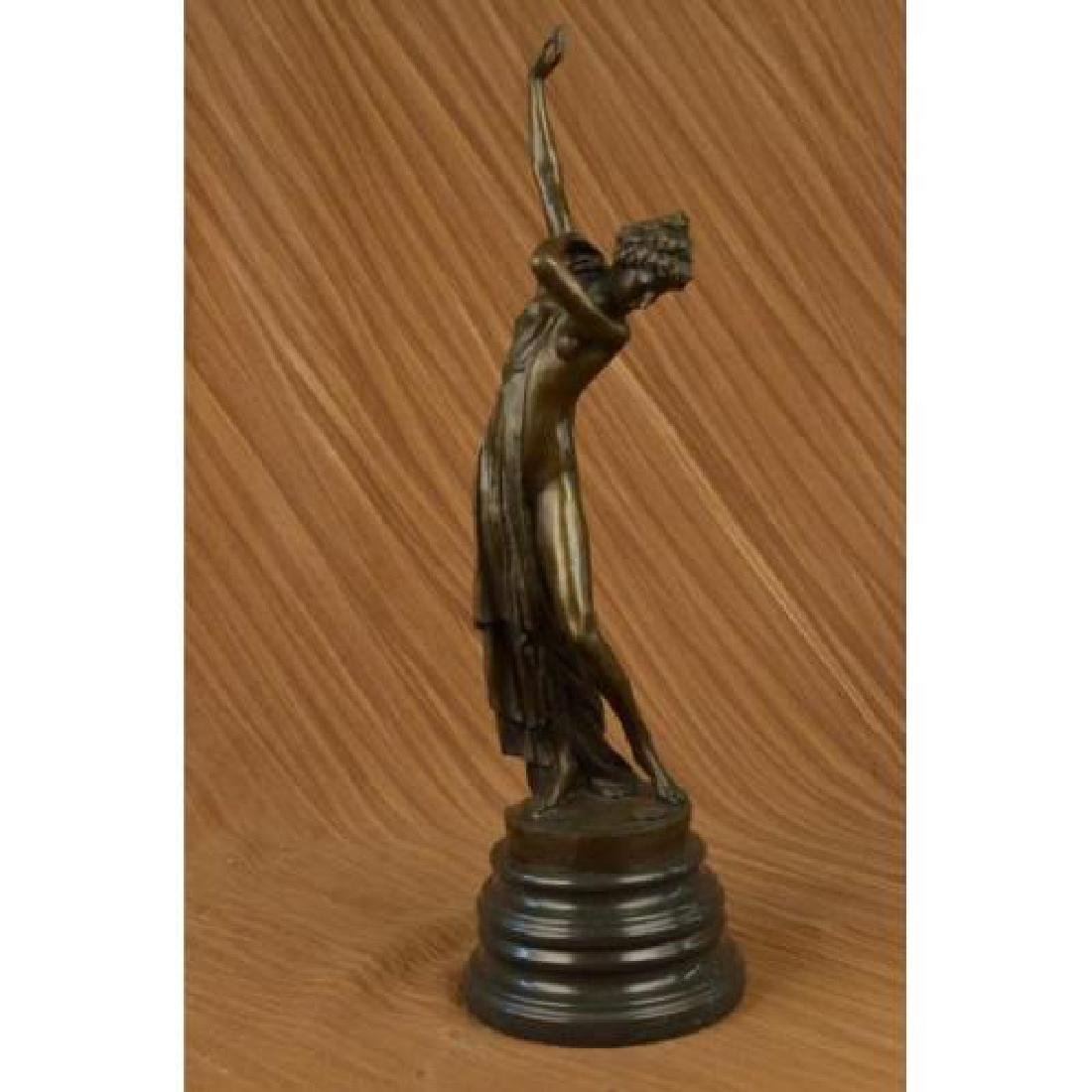 Nude Dancer Bronze Sculpture